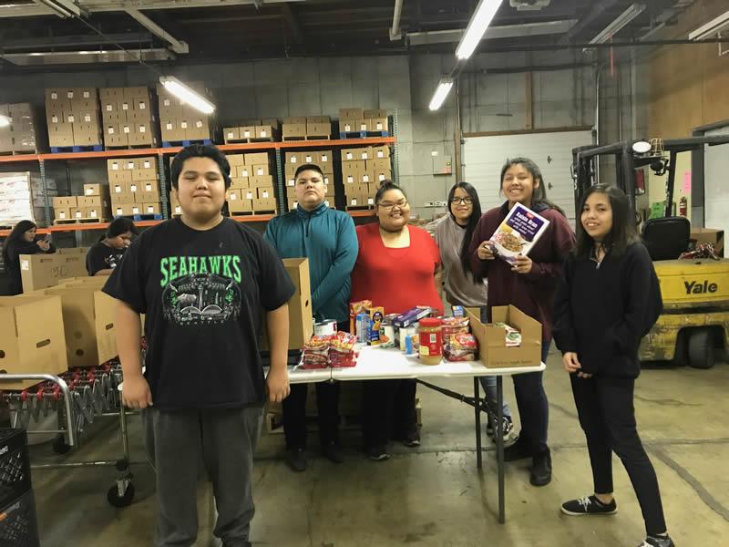 community helpers feeding hungry